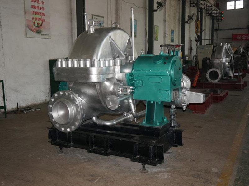 汽輪機的真空系統(凝汽器、循環水泵、凝結水泵、抽汽器等)